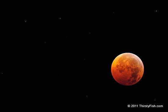 Lunar Eclipse on Winter Solstice in NYC