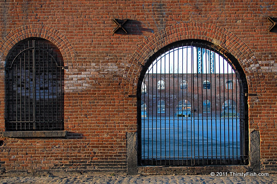Tobacco Warehouse Walls