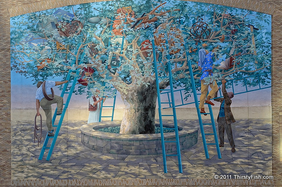 Mural Mile #3: Tree of Knowledge