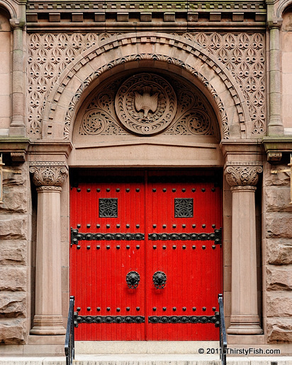 Doors; The First Baptist Church of Philadelphia