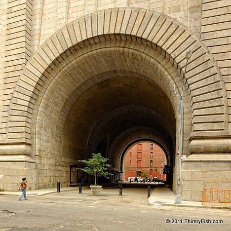 Manhattan Bridge Archway in DUMBO