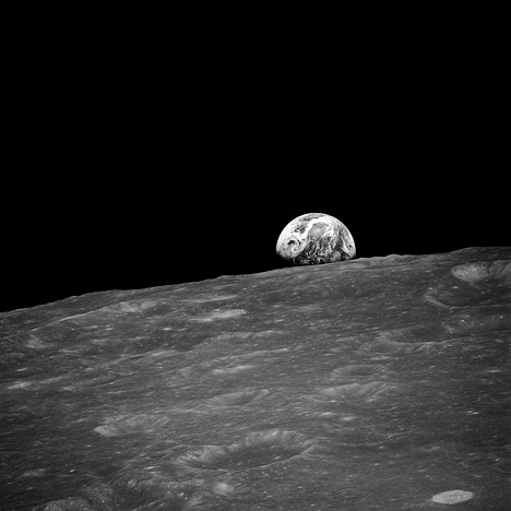 Earthrise; The First Photo