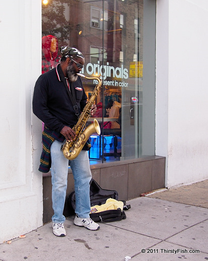 The Saxaphone Man - The Myth of Meritocracy