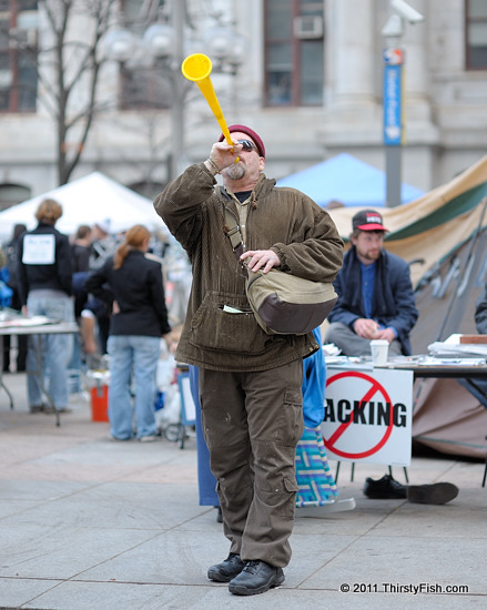 Occupy Philadelphia: When That Trumpet Blows...