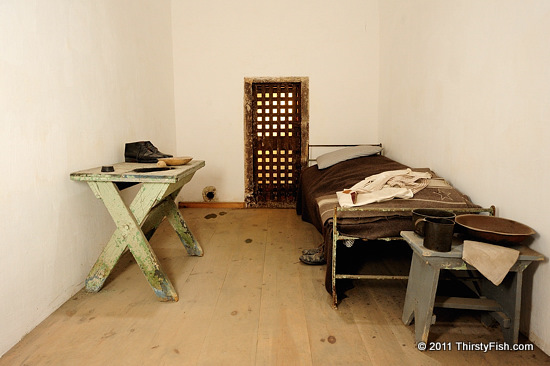 Four Wall, Wash Basin, Prison Bed - Sutton's Law