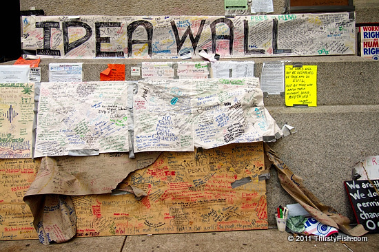 Occupy Philadelphia: Idea Wall - Occupy 2.0