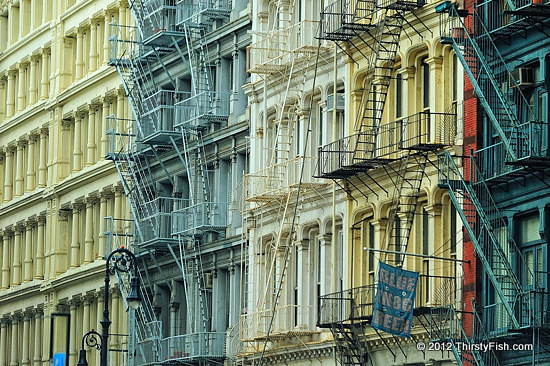 SoHo Cast-Iron Architecture