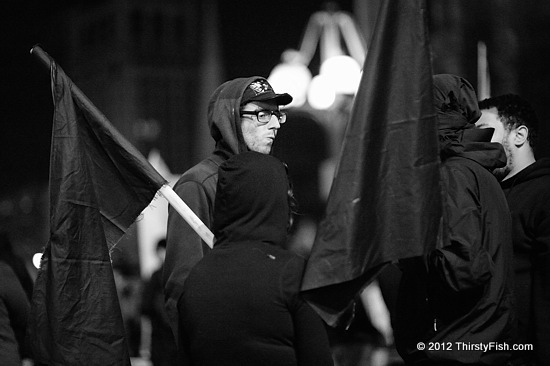 Occupy Philadelphia: Black Flag Anarchists