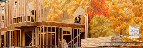 Mural Autumn Construction