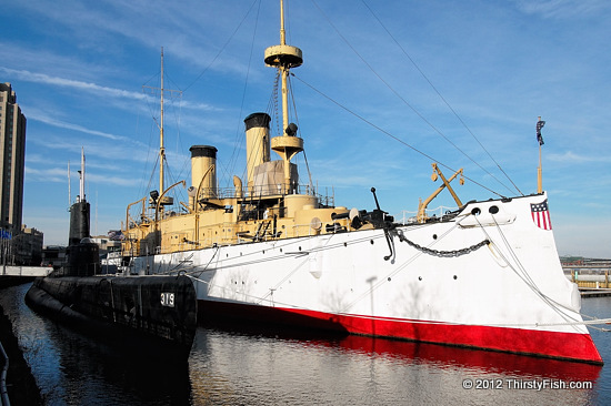 USS Becuna (SS-319) - USS Olympia (C-6) - Yellow Journalism