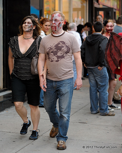 Zombie Couple - The P-Zombie