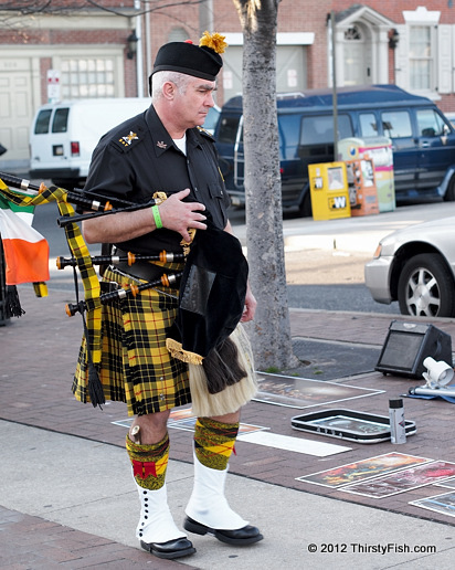 Bagpiper - St. Patrick's Day