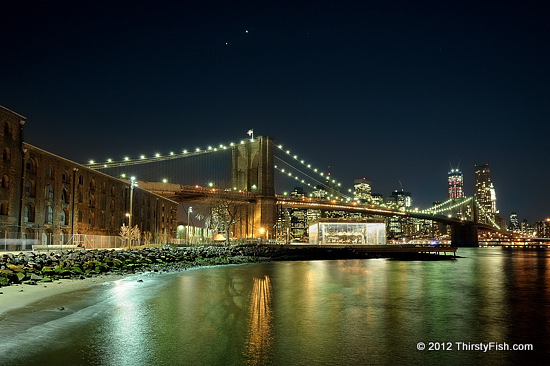 Jupiter, Venus, Brooklyn Bridge