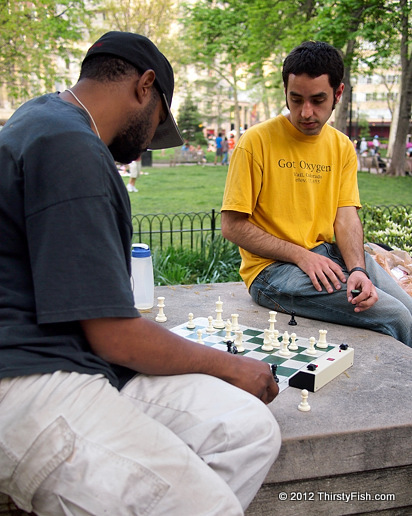 Chess in Rittenhouse Square