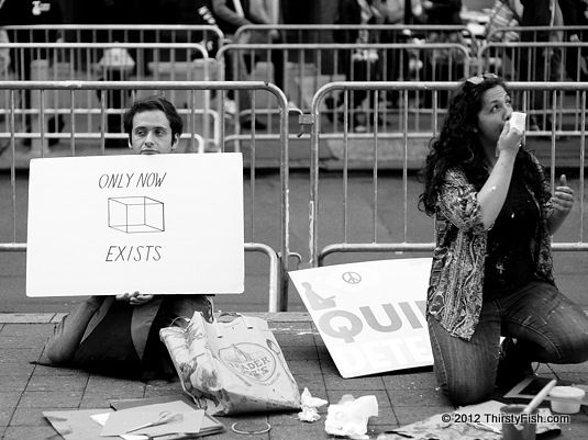 Occupy Wall Street: Only Now Exists