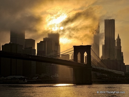 Brooklyn Bridge Sunset - Prime Lenses