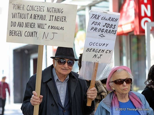 Occupy Bergen County: Power Concedes Nothing Without A Demand!
