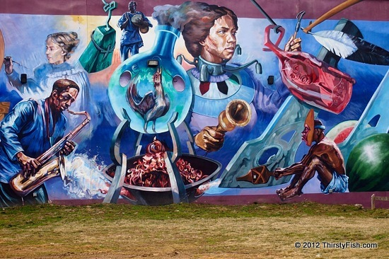 Philadelphia Mural (Parrish St. and N. 15th): ARTsolutely Awesome...