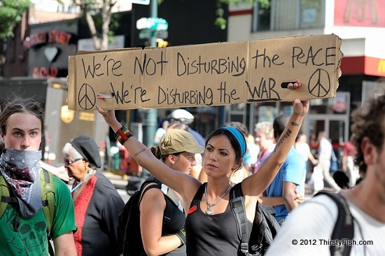 Occupy National Gathering: We're Not Disturbing the Peace; We're....