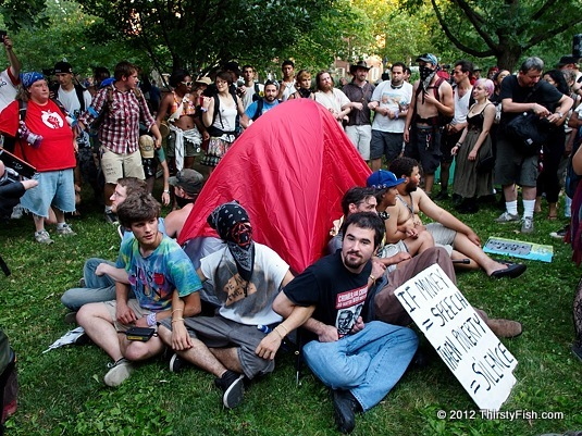 Occupy National Gathering: Defending the Occupy Tent