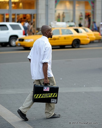 Occupy Wall Street: The Man with the Briefcase