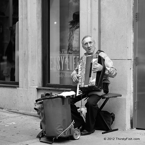 Pawel the Accordion Player