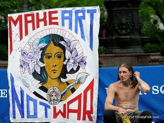 Occupy Wall Street: Make Art Not War