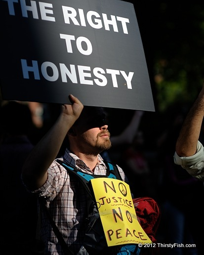 Occupy Wall Street: The Right To Honesty