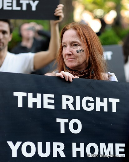 Occupy Wall Street: The Right To Your Home