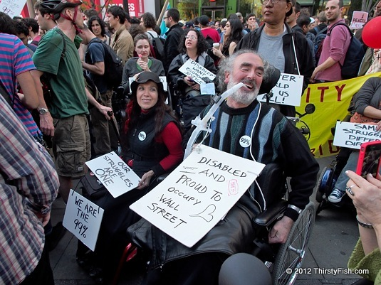 Disabled And Proud to Occupy