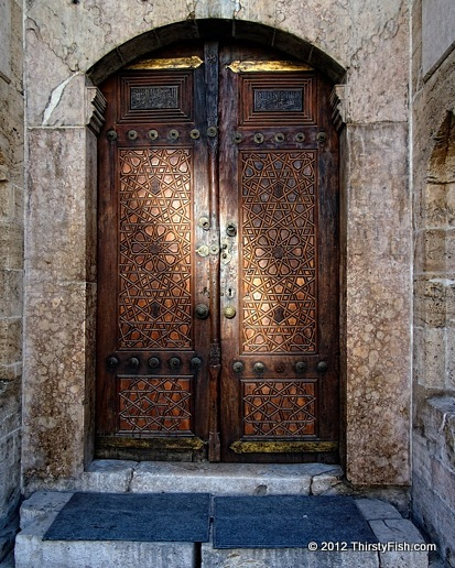 Bolu Kadi Mosque Door