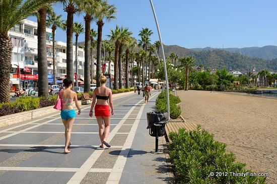 Marmaris Beach Walk