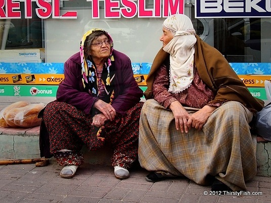 Older Nevsehir Ladies