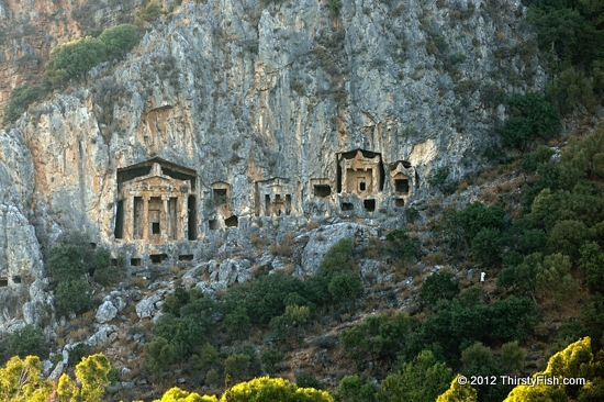 Lycian Rock Tombs of Dalyan (Lower Set)
