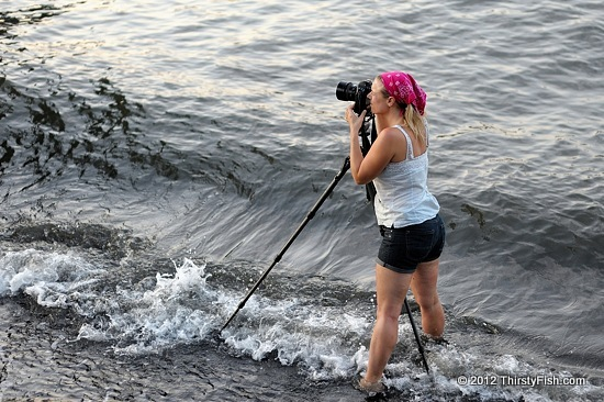 Behind the Camera, In the Water