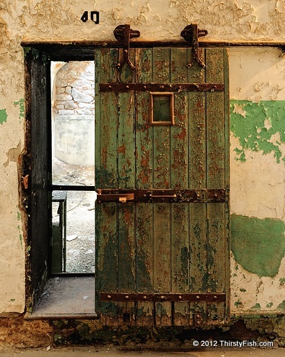 Cell Door at Eastern State Penitentiary