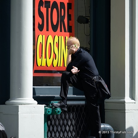Store Closing - Cynicism