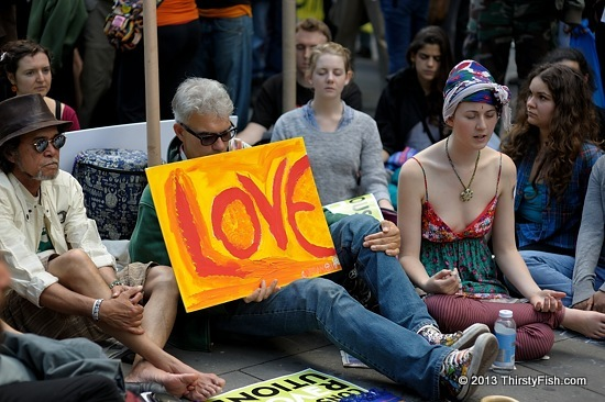 Occupy Wall Street: Love