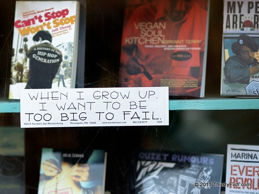 When I Grow Up, I Want To Be Too Big To Fail