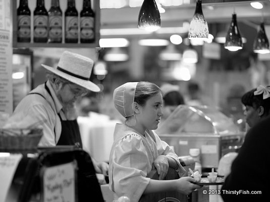 Amish At Reading Terminal Market