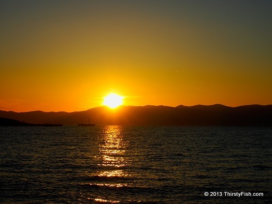 Sunset Over Chios
