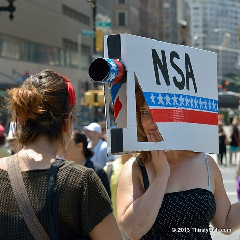 The NSA is Watching You