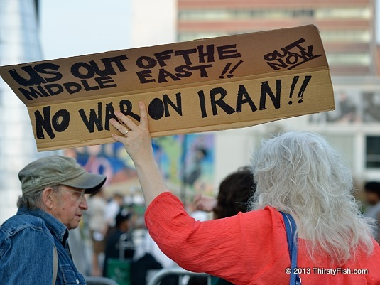 US Out Of The Middle East! No War On Iran [South Sudan]!