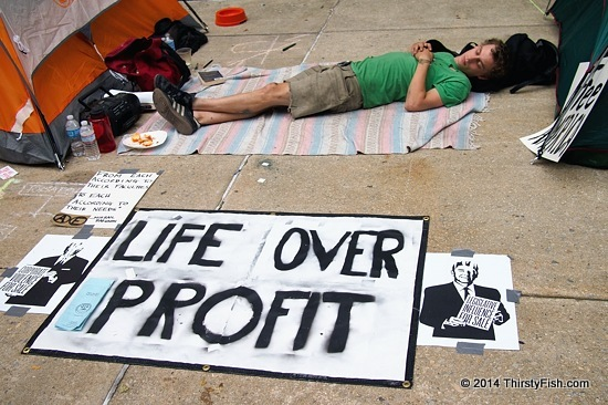 Occupy Philadelphia: Life Over Profit