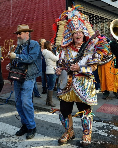 The Wild Bohemians, Mardi Gras in Philadelphia Parade