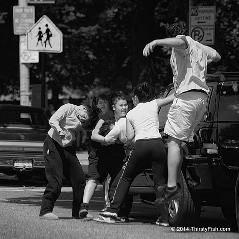 Kids Fight in Brooklyn