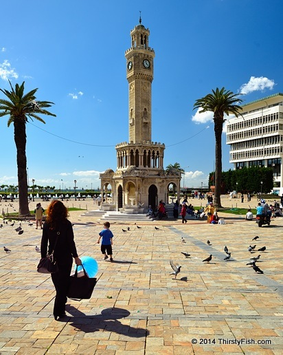 Izmir Clock Tower By Day