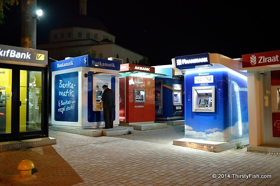 Bank ATM's in Ankara