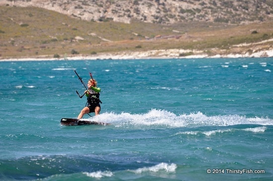 Alacati Kite Surfer