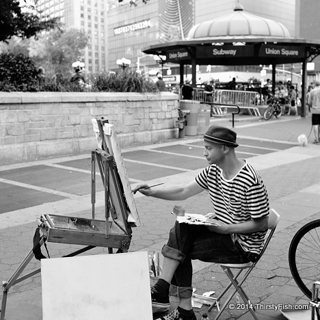 Artist at Union Square